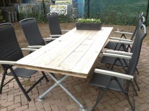 Steigerhouten meubels op maat